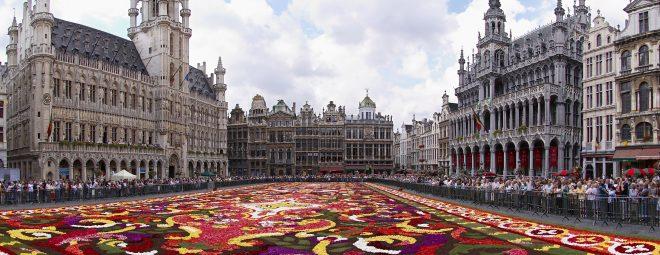 Grande place à Bruxelles