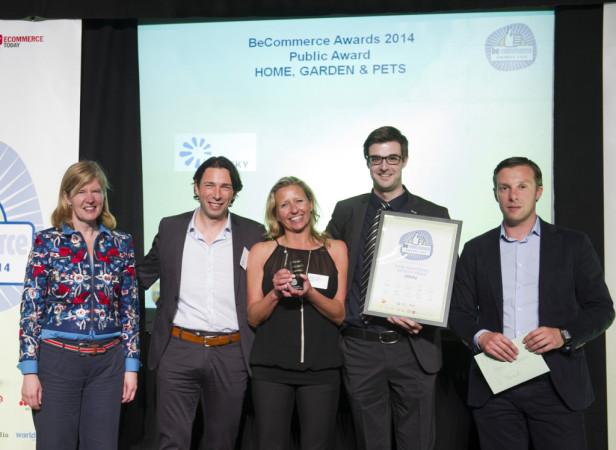 LEDsky op de BeCommerce awards