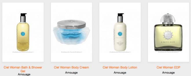 Amouage boyd lotion, shower gel, parfum bij Parfas