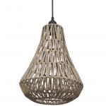 Gevlochten hanglamp bij vidaXL